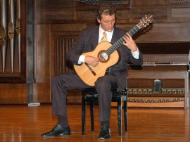 Miguel Pérez Perelló. Concierto Recital de guitarra , 2006