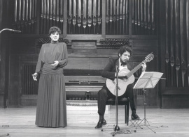 María Aragón y Gerardo Arriaga. Concierto Guitarra española del siglo XIX, 1985