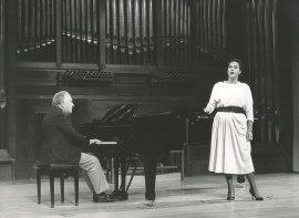 Paloma Pérez Íñigo y Miguel Zanetti. Recitales para Jóvenes, 1985