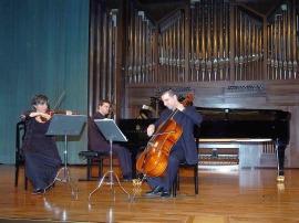 B3: Brouwer Trío, Jenny Guerra, Carlos Apellániz y David Apellániz. Concierto Recital de música de cámara , 2007