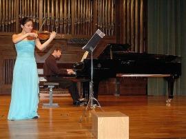 Amy Park y Duncan Gifford. Concierto Recital de violín y piano , 2007
