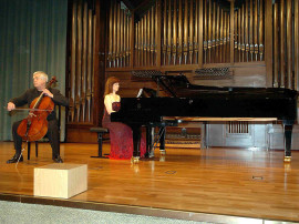 Roman Jablonski y Tatiana Kriukova. Concierto Recital de violonchelo y piano , 2007