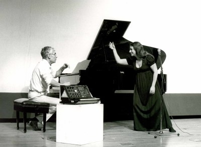 LIM (Laboratorio de Interpretación Musical), Meg Sheppard y Alcides Lanza. Concierto Música y tecnología
