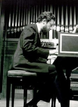 Pablo Cano. Concierto Domenico Scarlatti , 1985