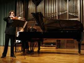 Jaime Gorgojo y Raquel Gorgojo. Concierto Recital de violín y piano , 2009