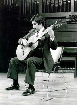 Javier Calderón. Recital de guitarra , 1985