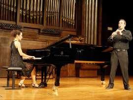 Dúo Göttendämmerung, David Mora Mora y Raquel Sabarís. Concierto Recital de clarinete y piano , 2010