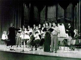 Coro Barroco y Orquesta de Cámara Gaudeamus. Recital de música de cámara , 1985