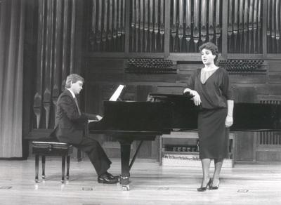 Fernando Turina y Paloma Pérez Íñigo. Recitales para Jóvenes