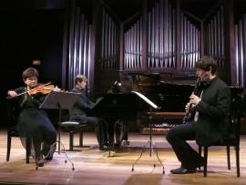 Iwona Andrzejczak, Duncan Gifford y David Salinas. Concierto Recital de música de cámara , 2013
