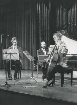 Jan Grimbergen, Jacques Ogg y René Boch. Concierto Barroco francés , 1986