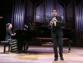 Dúo Alfageme, Eduardo Alfageme y Irene Alfageme. Concierto Recital de clarinete y piano , 2013