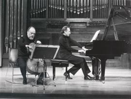 Pedro Corostola y Manuel Carra. Recitales para Jóvenes, 1986