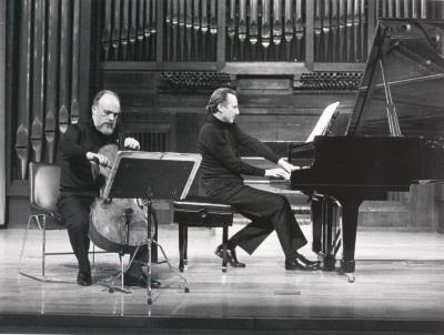 Pedro Corostola y Manuel Carra. Recitales para Jóvenes