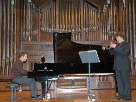 José Gallego y Luis González. Concierto La trompeta española , 2005