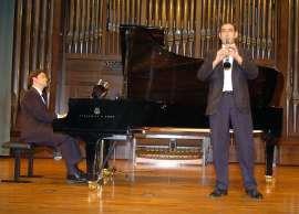 Jesús Echeverría, Dúo Echeverría-Apellániz y Carlos Apellániz. Concierto El clarinete en España , 2005