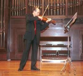 Francisco Comesaña. Concierto El violín en España , 2005