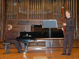 David Tomàs y Kennedy Moretti. Concierto Músicas para el fagot , 2006