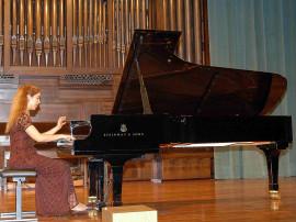 Miriam Gómez-Morán. Concierto Grandes sonatas para piano , 2006