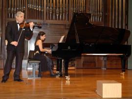 Levon Melikian y Sofía Melikyan. Concierto Música de cámara armenia , 2007
