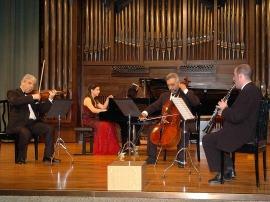 Gustavo Duarte, Levon Melikian, Levon Muradyan y Sofía Melikyan. Concierto Música de cámara armenia , 2007