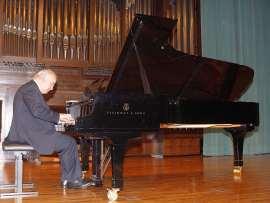 Guillermo González. Concierto La danza en el piano , 2007