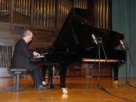 Miguel Ituarte. Concierto La danza en el piano , 2007