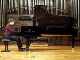 Gerardo López Laguna. Concierto Messiaen en su centenario , 2008
