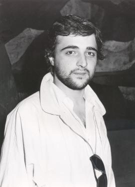 Ernest Martínez. Concierto Tribuna de jóvenes compositores , 1986