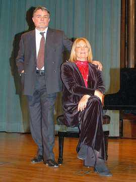 Lydia Rendón y Anatoly Pouzoun. Concierto Música eslava , 2008