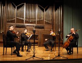 Zorik Tatevosyan, David Tena, Oleg Krylnikov y Dimitar Furnadjiev. Concierto Música eslava , 2008
