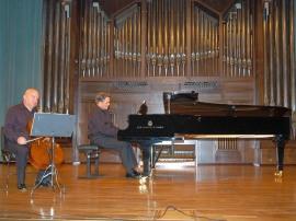 Dimitar Furnadjiev y Anatoly Pouzoun. Concierto Música eslava , 2008