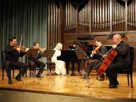 Zorik Tatevosyan, David Tena, Lydia Rendón, Oleg Krylnikov y Dimitar Furnadjiev. Concierto Música eslava , 2008