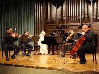 Zorik Tatevosyan, David Tena, Lydia Rendón, Oleg Krylnikov y Dimitar Furnadjiev. Concierto Música eslava