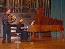 Javier Bonet y Miriam Gómez-Morán. Concierto El fortepiano , 2008