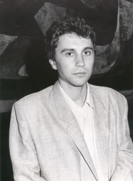 Roberto Mosquera. Concierto Tribuna de jóvenes compositores , 1986