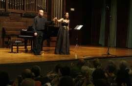 Jorge Robaina y María Rey-Joly. Concierto Las zarzuelas de los Fernández-Shaw , 2011