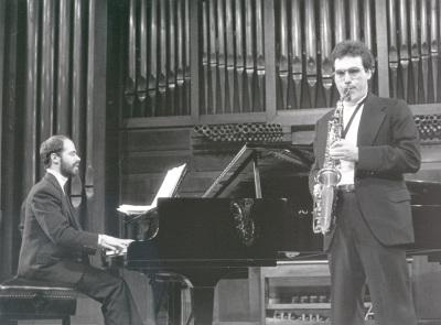 Dúo Miján-Sebastián Mariné. Recital de saxofón y piano
