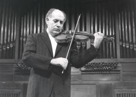 Gonçal Comellas. Concierto Música para violín solo , 1987
