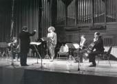 Grupo Círculo, Mª José Sánchez y José Luis Temes. Recital de flauta y piano