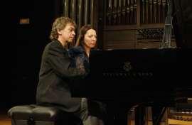 Ilona Timchenko y Jorge Otero. Concierto Brahms transcribe a Brahms: integral de las sinfonías a cuatro manos , 2012