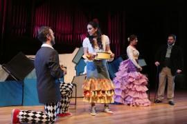 María Rodríguez, Julio Morales, Paula Iwasaki, Raúl Novillo y Celsa Tamayo. Concierto La zarzuela en un acto: música representada - Conciertos en familia , 2013