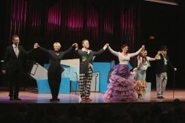 María Rodríguez, Julio Morales, Paula Iwasaki, Raúl Novillo y Celsa Tamayo. Concierto La zarzuela en un acto: música representada - Conciertos en familia) , 2013