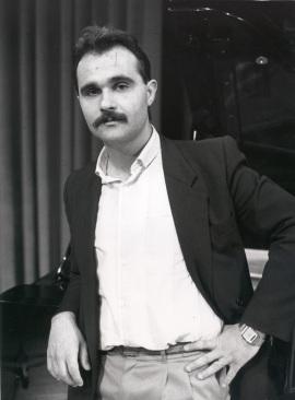 Albert Llanas. Concierto Tribuna de jóvenes compositores , 1987
