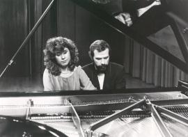 Carmen Deleito y Josep Colom. Concierto Integral de música de cámara - Ravel , 1987