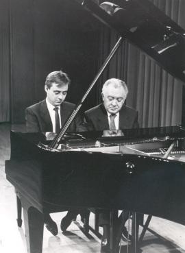 Fernando Turina y Miguel Zanetti. Concierto Aula de (Re)estrenos (4) , 1987