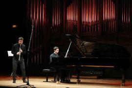Federico Bosco y Pablo Barragán. Concierto Recital de clarinete y piano , 2014