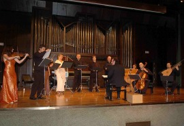 Capilla Real de Madrid y Oscar Gershensohn. Concierto Monteverdi - Música barroca , 2006