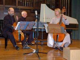 Trío Wieland Kuijken, Wieland Kuijken, Renée Bosch y Robert Kohnen. Concierto El esplendor de la viola da gamba - Música barroca , 2006