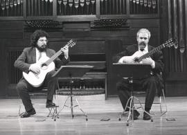 Antonio Ruiz Berjano y Gerardo Arriaga. Recital de dúo de guitarra , 1988